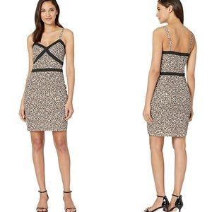 NWT bebe Leopard Safari Cami Mini Dress